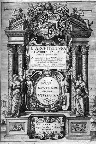 Andrea Palladio Quattro libri dell´architettura